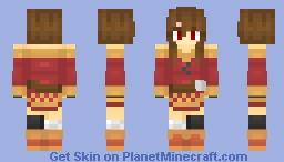 Megumin EXPLOSION!!!! XD Minecraft Skin