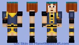 Petra (Season 2) (Minecraft Story Mode) Minecraft Skin