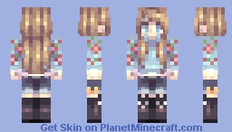 Would you be so kind? | OC Minecraft Skin