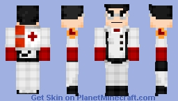 TF2 Medic Minecraft Skin
