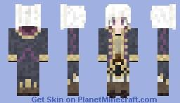Tactician Robin(Remake)- Fire Emblem Awakening Minecraft Skin