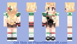sweet explosion . Minecraft Skin