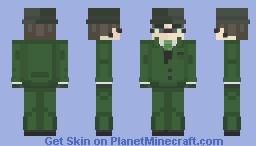 The Riddler - Gotham Minecraft Skin