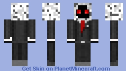 Entity 303 with business Minecraft Skin