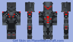 Fire Genji (Fan Made) Minecraft Skin