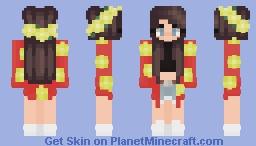 Hawaiian Sunset Minecraft Skin