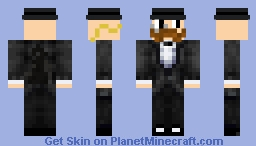 Mr. Monopoly Minecraft Skin