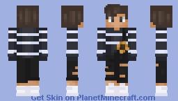 Overalls Boy -Georgee Minecraft Skin