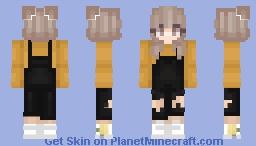 Pumpkin spice Minecraft Skin