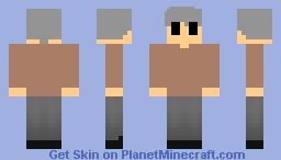 Uncle Ben - Spectacular Spider Man Skin Pack Minecraft Skin
