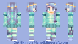 Water Colors Minecraft Skin