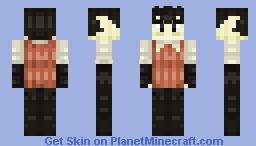 The Gentleman Scientist Minecraft Skin
