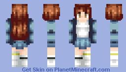 Finished! New Shading Style ~~ Minecraft Skin