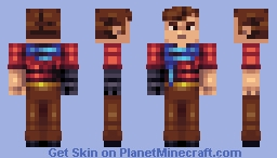 adventurer dude Minecraft Skin