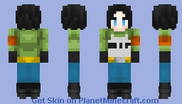 Android 17 -Dragonball Super- -Request- Minecraft