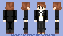 Bipper (Gravity Falls) Minecraft Skin