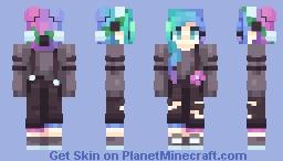 chroma Minecraft Skin