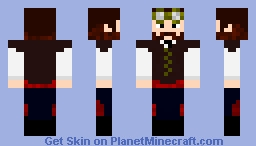 Mayor of SteamPunk City ~ Skin Request by ClockworkDivine Minecraft Skin