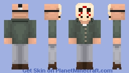 Jason Voorhees (alts in desc.) - Friday the 13th Minecraft Skin