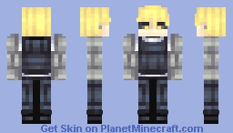 Genos - One Punch Man Minecraft Skin