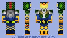 Kamen Rider Gaim Durian Arms 仮面ライダー鎧武•ドリアンアームズ Minecraft Skin