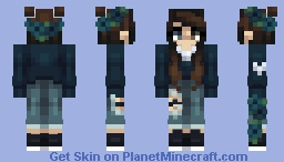 Blueberry Minecraft Skin