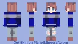 Ravenclaw Boy (My friend Thomas) Minecraft Skin