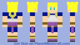 Super Saiyan Cabba Minecraft Skin