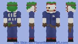 The Joker(New 52) Minecraft Skin