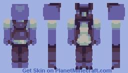 him blu Minecraft Skin