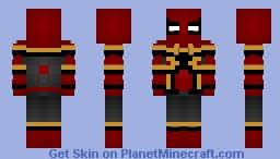 Iron Spider (Infinity War) Minecraft Skin