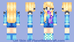 i'm not your average princess || oc / persona Minecraft Skin