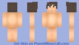 MinecraftStoryMode Style Base Minecraft Skin
