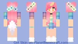 Kawaii~Chan Unicorn Minecraft Skin