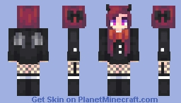 Lets get SPOOKY Minecraft Skin