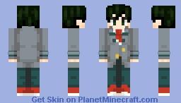 Midoriya Izuku - Boku no Hero Academia Minecraft Skin