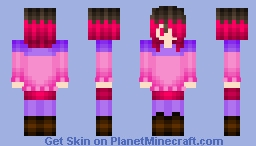 Minecraft Skin | Betty, Glitchtale Minecraft Skin