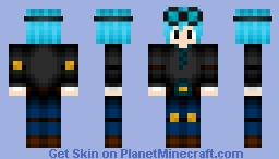 Minecraft Skin | DanTDM - Edited Youtubers *Blue Hair* Minecraft Skin