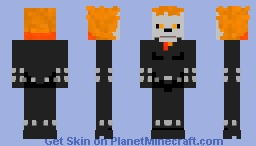 MARVEL Comics: Ghost Rider Minecraft Skin