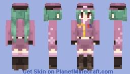 Miku Hatsune - Senbonzakura Minecraft Skin