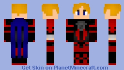 Lars Alexandersson from Tekken Minecraft Skin