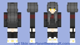 Tryhard Girl //Molly Minecraft Skin