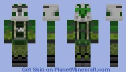 Commander Gree (camo) Minecraft Skin