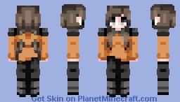 Angel_15 Battle Girl Minecraft Skin
