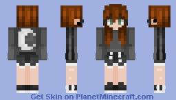 𝓹𝓮𝓻𝓼𝓸𝓷𝓪 - 𝓬𝓱𝓲𝓵𝓵𝓲𝓷 Minecraft Skin