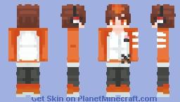 [KHR] Sawada Tsunayoshi Minecraft Skin