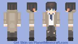 Castiel - Supernatural Minecraft Skin