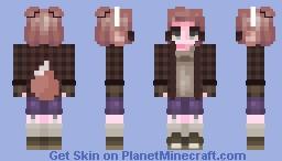 ✨ BooMinion ✨ Thepixelcuti07's request Minecraft Skin