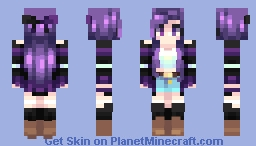 willow . adopted oc Minecraft Skin