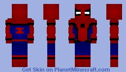 Spider-Man (MCU) Minecraft Skin